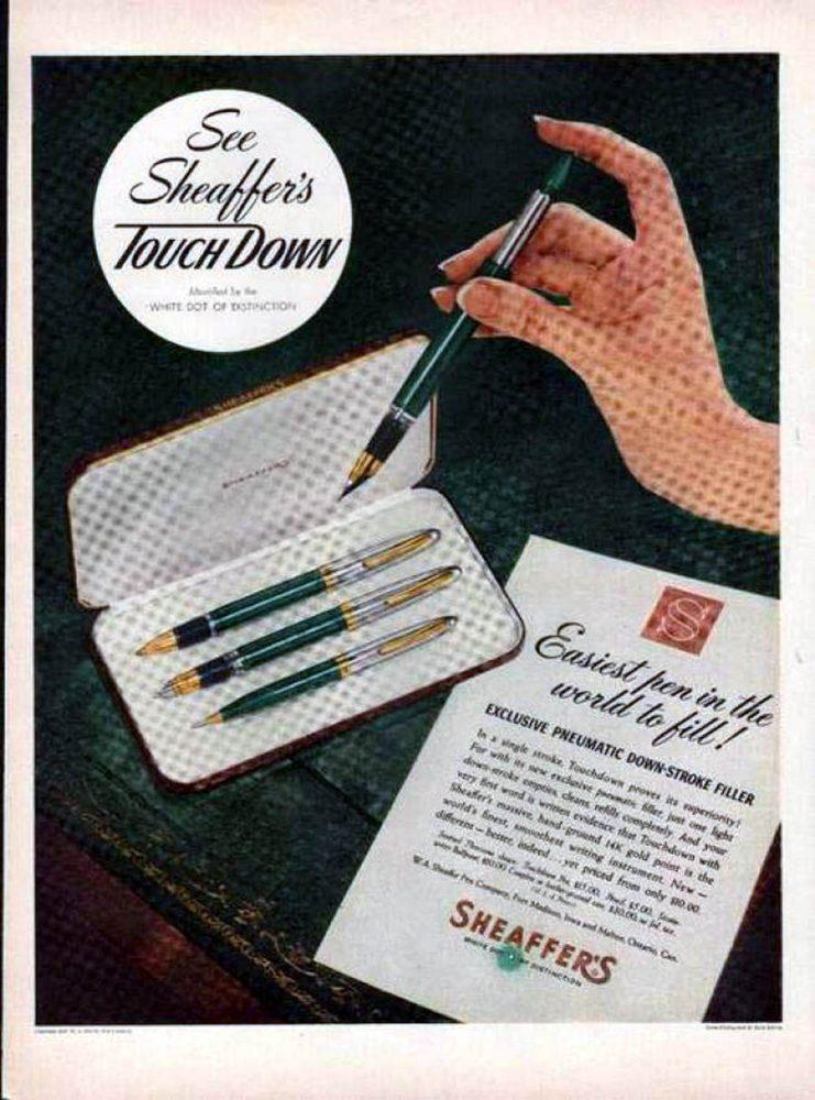 1949 Sheaffer 1949 TOUCHDOWN