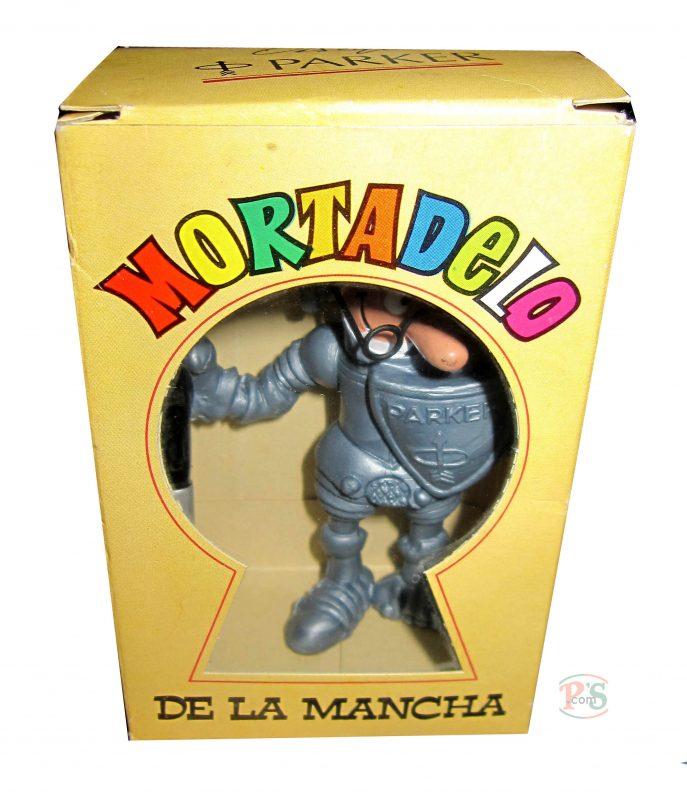 Mortadelo de la Mancha en su caja original (cortesía de D. Antonio Gonzalez Serrano. Barcelona)